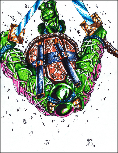 Leonardo TMNT Cartoon