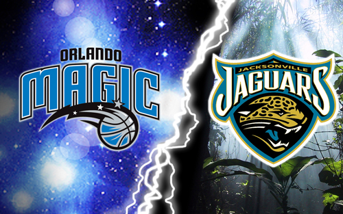 Orlando Magic, Jacksonville Jaguars, Florida, Desktop, Peter A DeLuca, AKAPAD